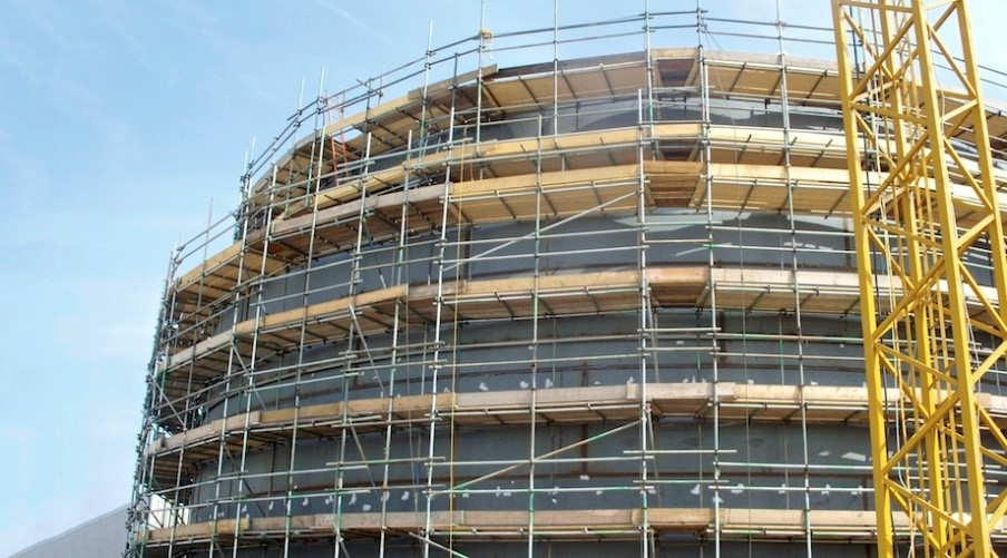 Chemical Tank Scaffolding Structure